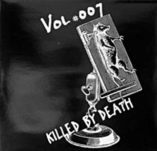 cover of killed by death #007