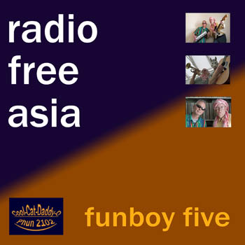 Funboy Five: Radio Free Asia cover