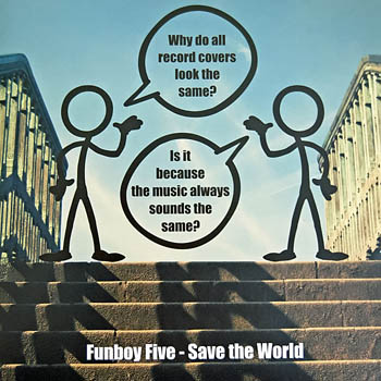 Funboy Five: Save The World single cover