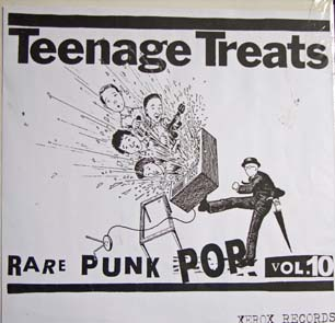 cover of teenage treats vol 10