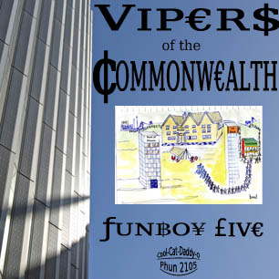 Funboy Five: Vipers Of The Commonwealth cover
